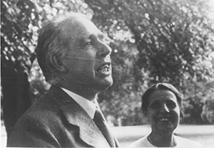 Niels Bohr and Lise Meitner, 1936